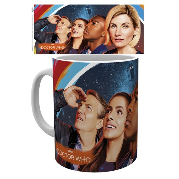 Doctor Who Boxed Mug Painting Sparkle Gift