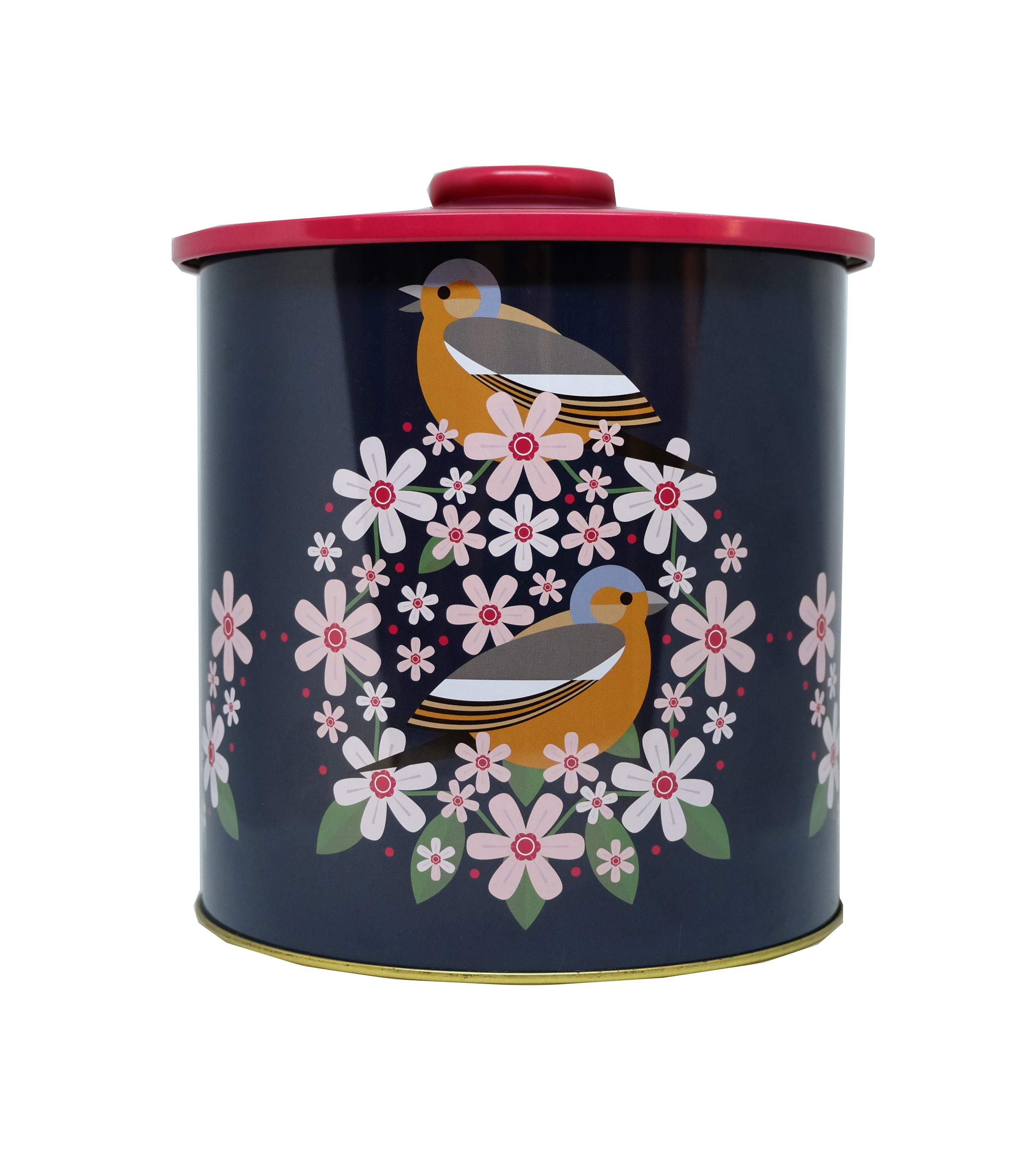 I Like Birds Blooms Biscuit Barrel Chaffinch Sparkle Gift