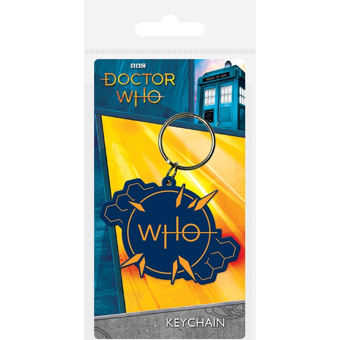Doctor Who Keyring Insignia Sparkle Gift