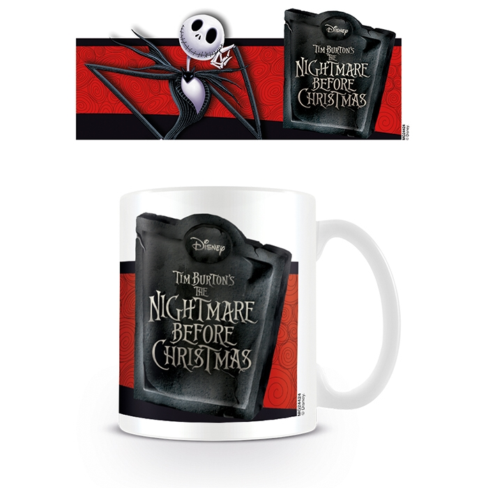 Nightmare Before Christmas Boxed Mug Jack Banner Sparkle Gift