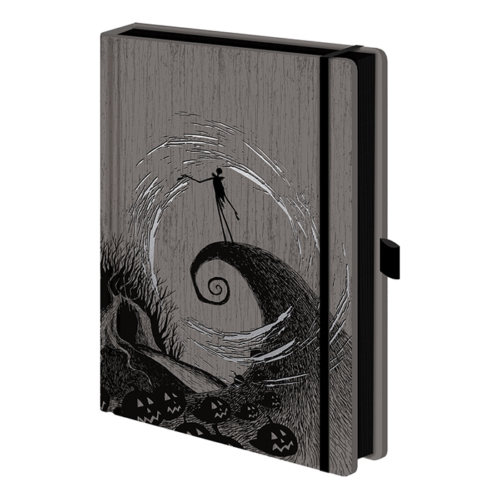 Nightmare Before Christmas Premium A5 Notebook Sparkle Gift
