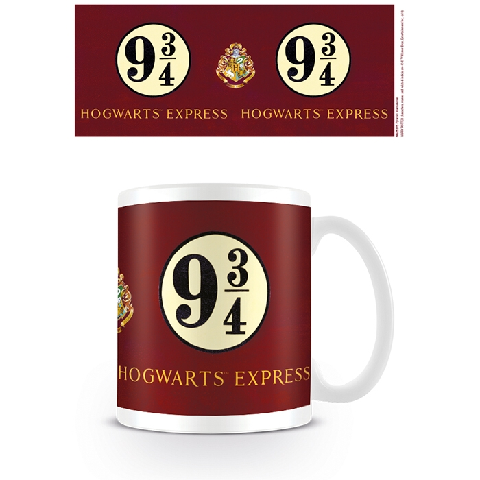 Harry Potter Boxed Mug Platform 9 & 3/4 Sparkle Gift