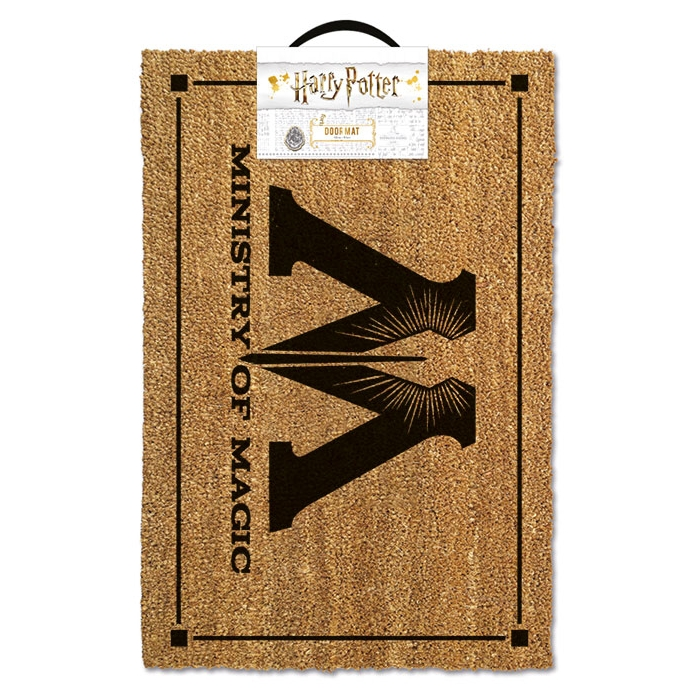 Harry Potter Doormat Ministry of Magic Sparkle Gift
