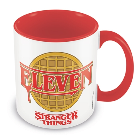Stranger Things Boxed Mug Coloured Inner Eleven Sparkle Gift
