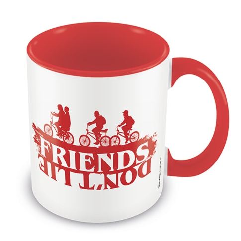 Stranger Things Boxed Mug Coloured Inner Friends Sparkle Gift