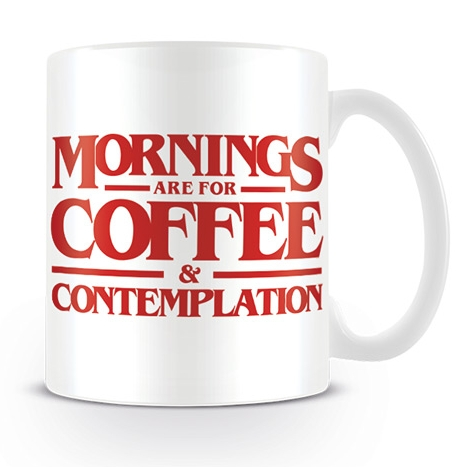 Stranger Things Boxed Mug Coffee & Contemplation Sparkle Gift