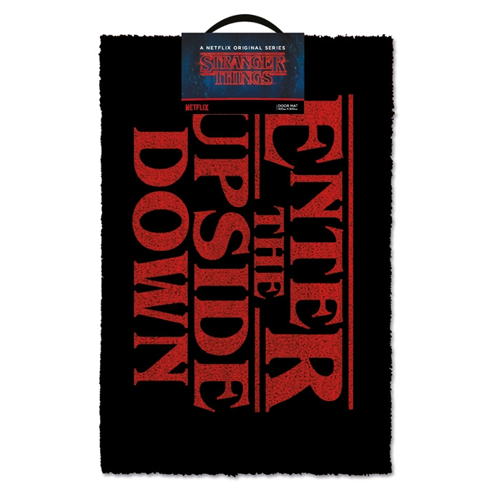 Stranger Things Doormat Enter The Upside Down Sparkle Gift