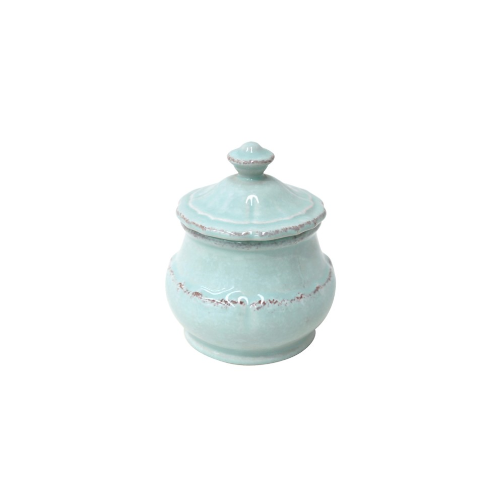 Impressions Turquoise Sugar Bowl 10.1cm X1 Sparkle Gift