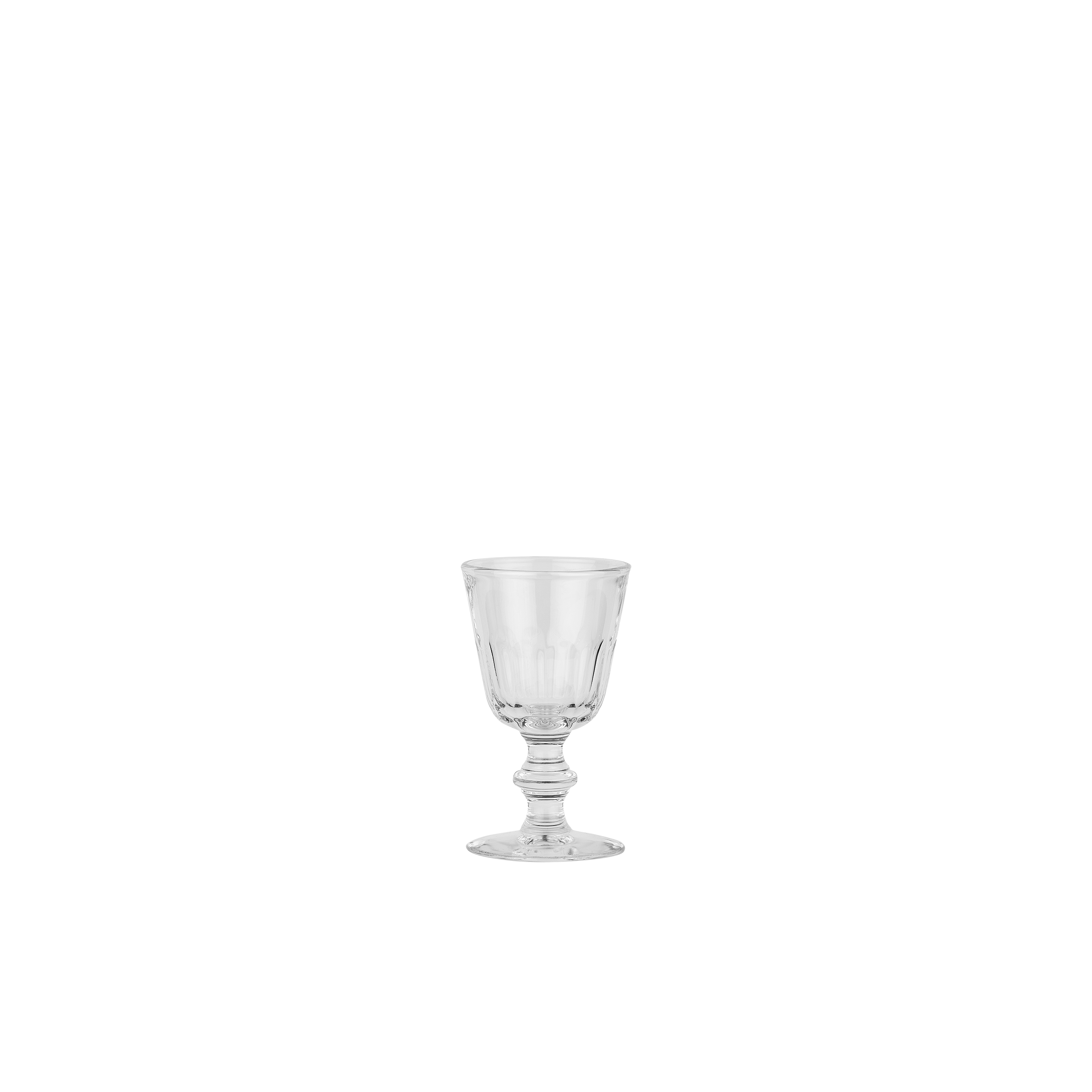 Rustic Wine Glass 170ml X6 Sparkle Gift