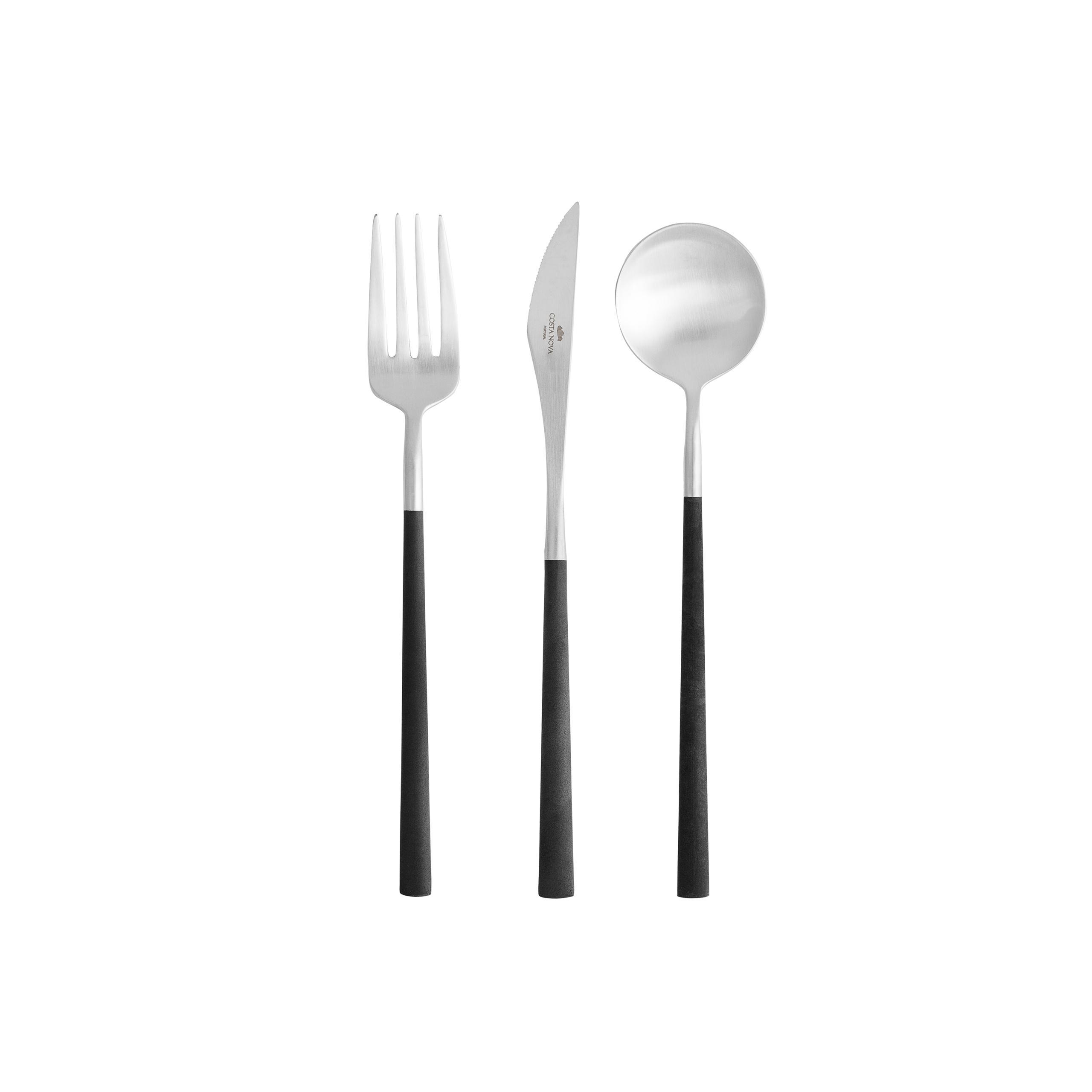 Mito Brushed Flatware (cutlery) 24 Piece X1 Sparkle Gift