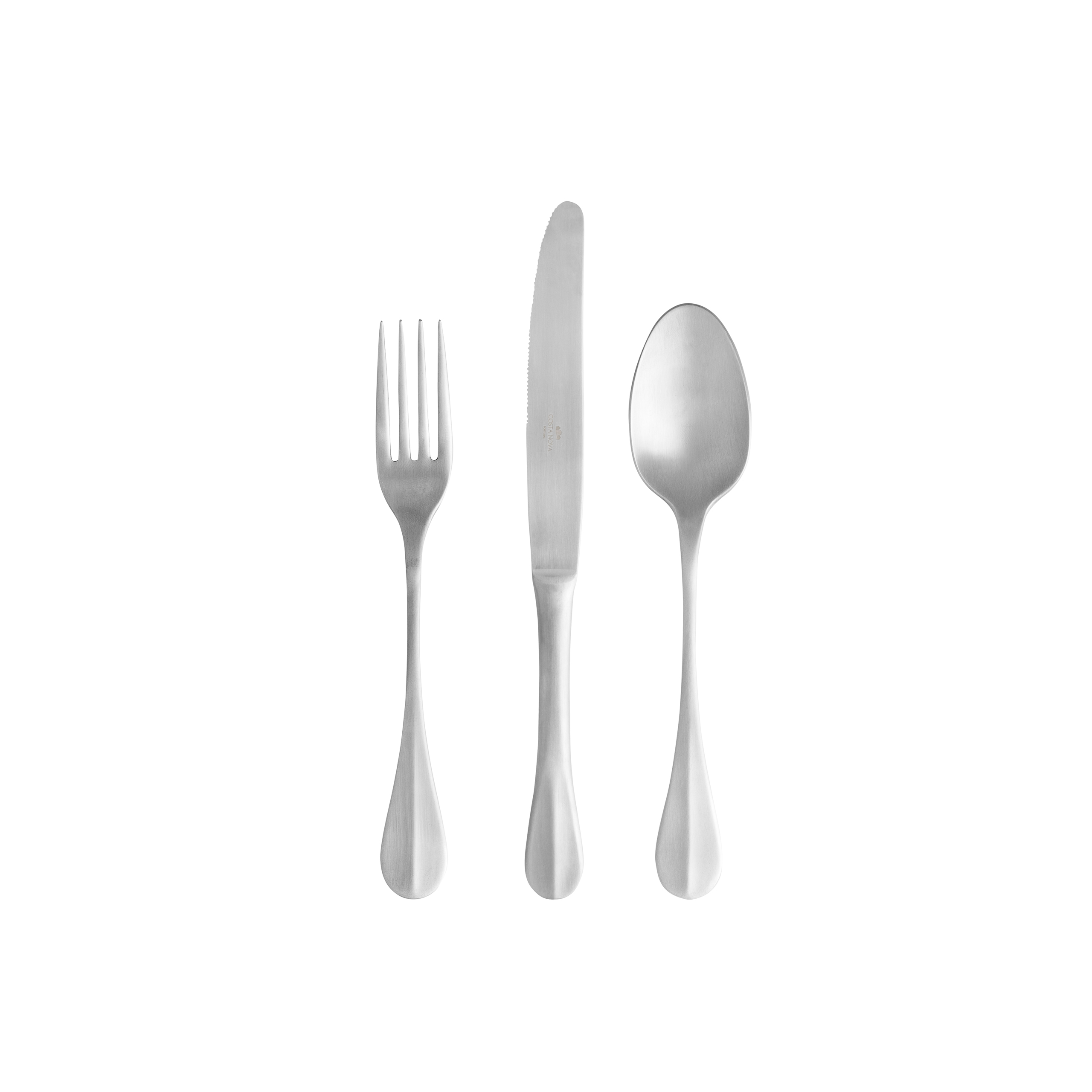 Nau Brushed Flatware (cutlery) 24 Piece X1 Sparkle Gift