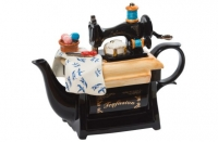 Teapot Sewing Machine Large Sparkle Gift