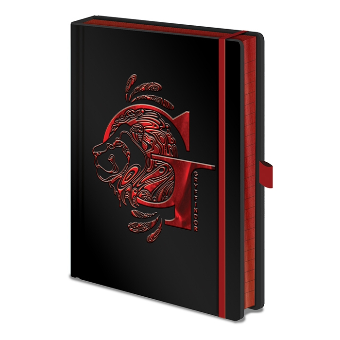Harry Potter Premium A5 Notebook Gryffindor Foil Sparkle Gift