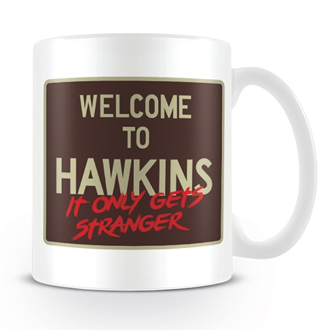 Stranger Things Boxed Mug Welcome To Hawkins Sparkle Gift
