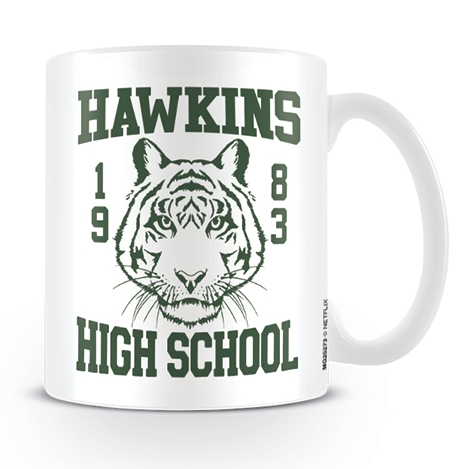 Stranger Things Boxed Mug Hawkins High School Sparkle Gift