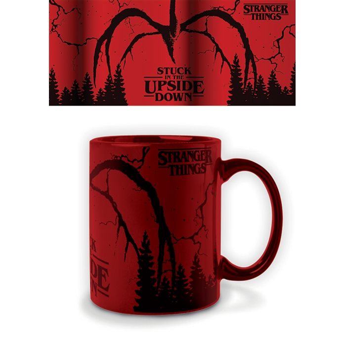Stranger Things Metallic Mug Mind Flayer Sparkle Gift