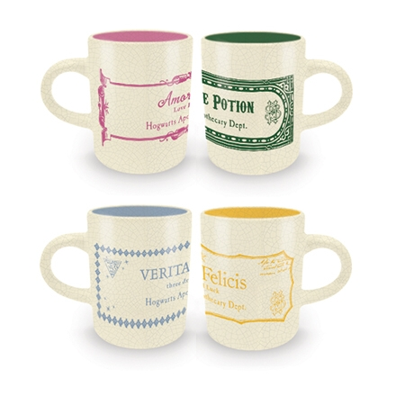 Harry Potter Espresso Mug Set Potions Sparkle Gift