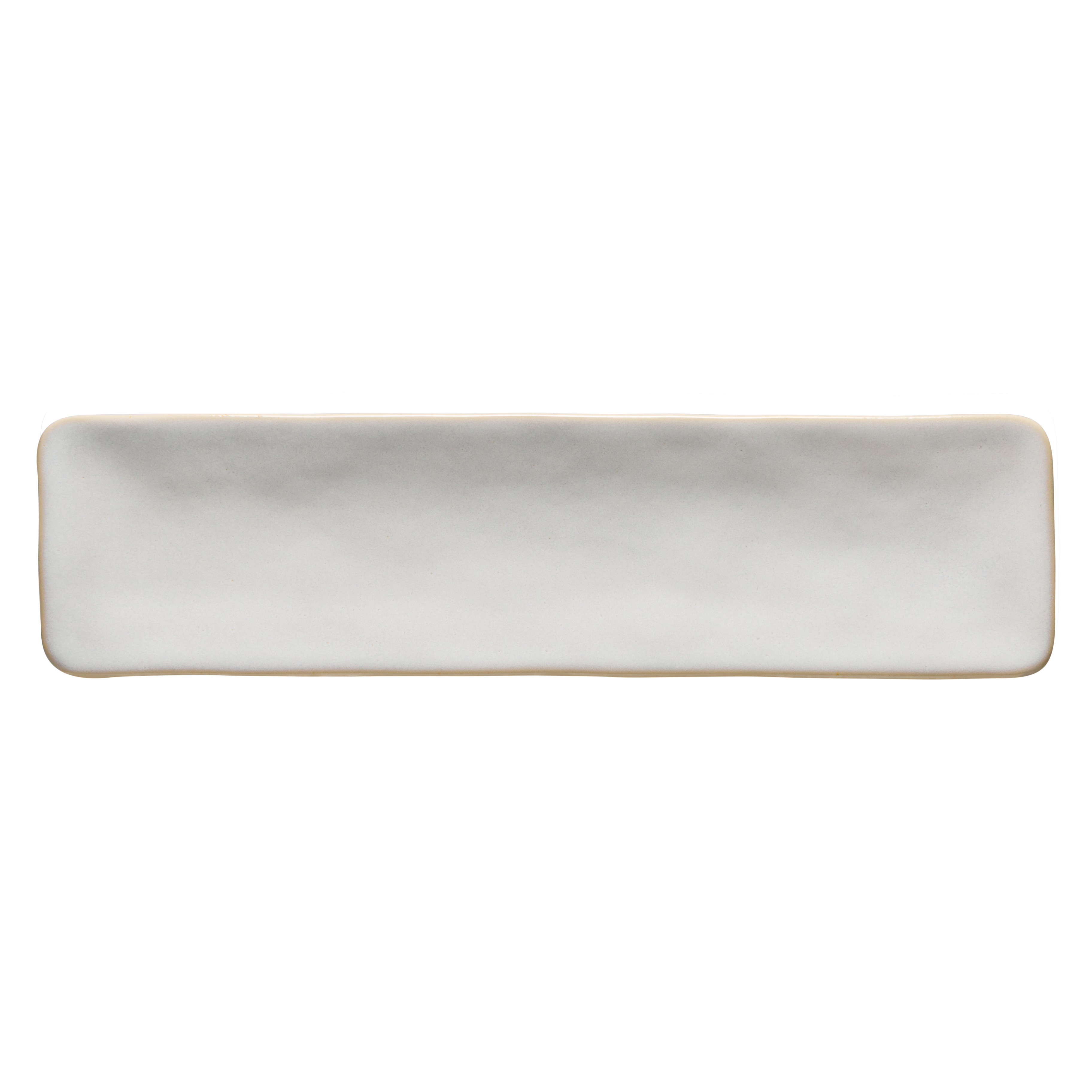 Roda White Rectangular Tray 36.7cm X1 Sparkle Gift