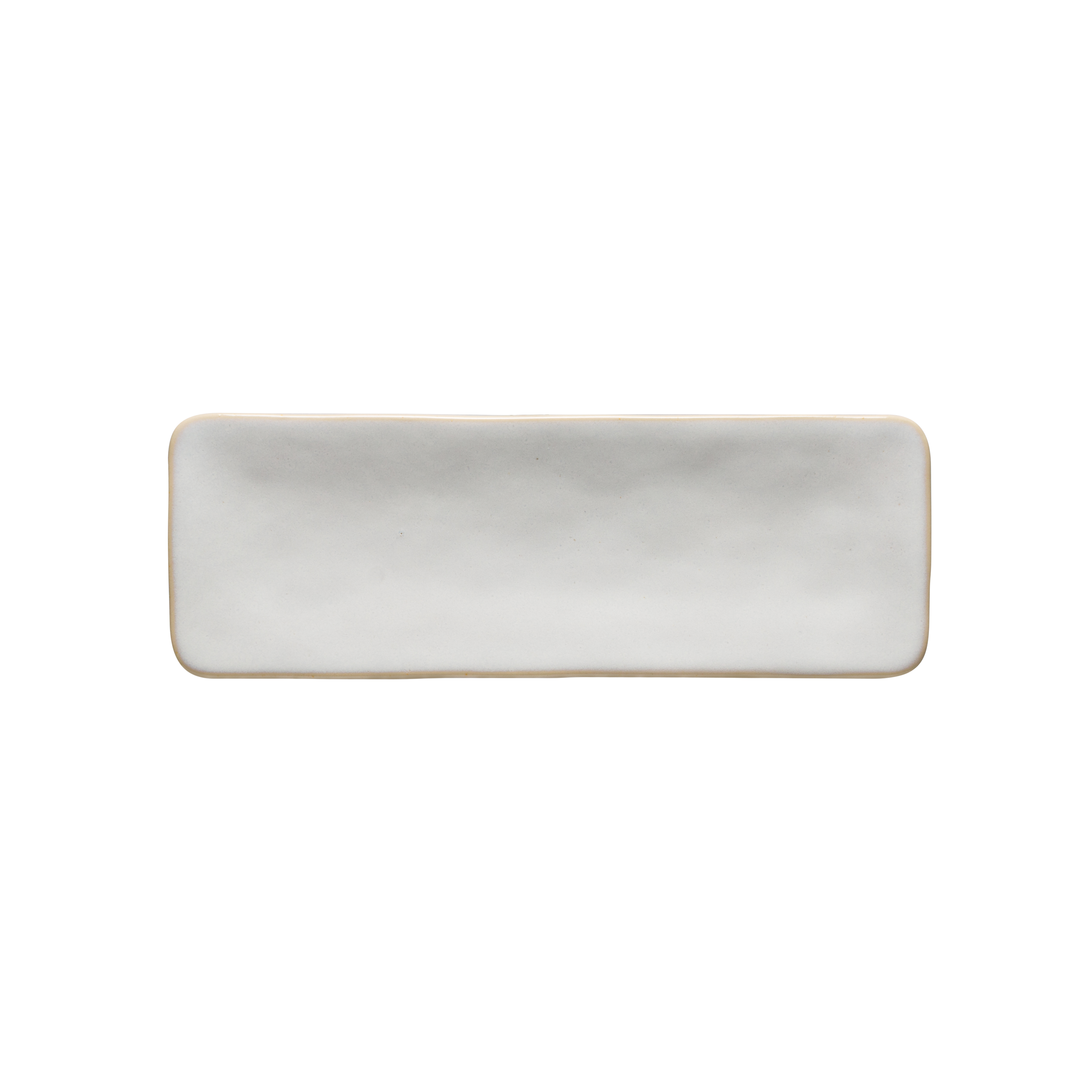 Roda White Rectangular Tray 27.7cm X1 Sparkle Gift