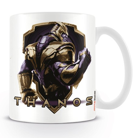 Marvel Boxed Mug Avengers Endgame Thanos Warrior Sparkle Gift