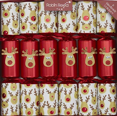 Christmas Crackers Racing Reindeer (6) 2019 Sparkle Gift