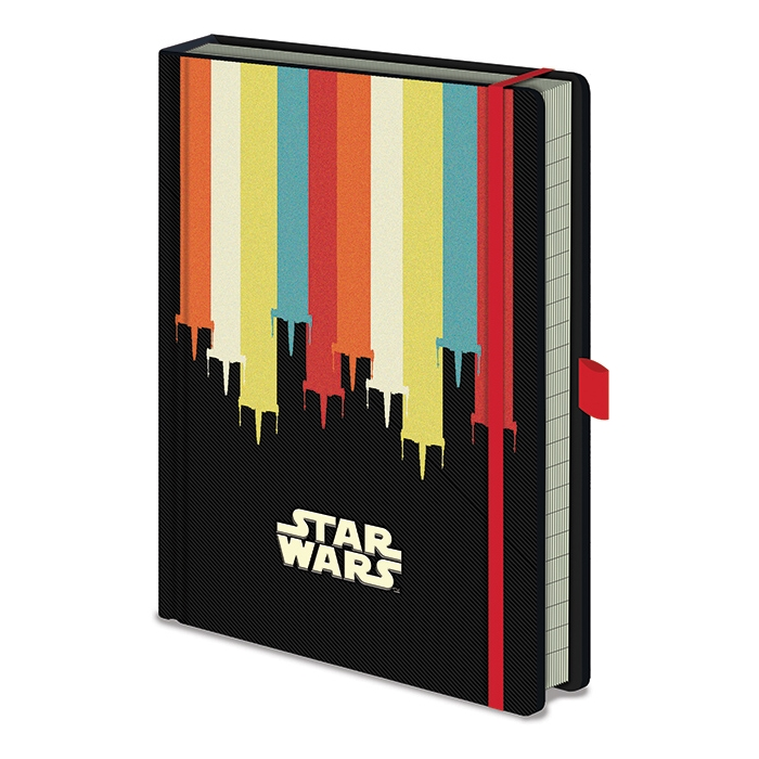 Star Wars Premium A5 Notebook Nostalgia Sparkle Gift