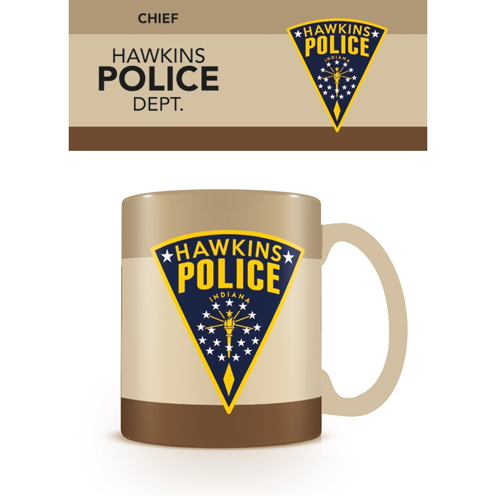 Stranger Things Boxed Mug Hawkins Police Dept Sparkle Gift