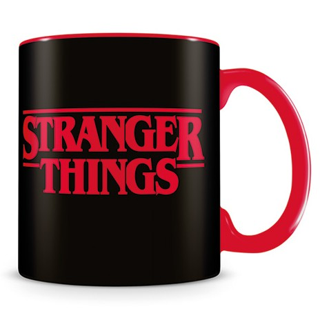 Stranger Things Boxed Mug Logo Sparkle Gift