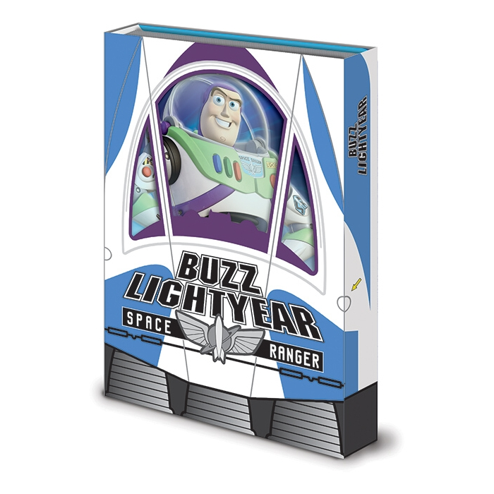 Toy Story Premium A5 Notebook Buzz Box Sparkle Gift