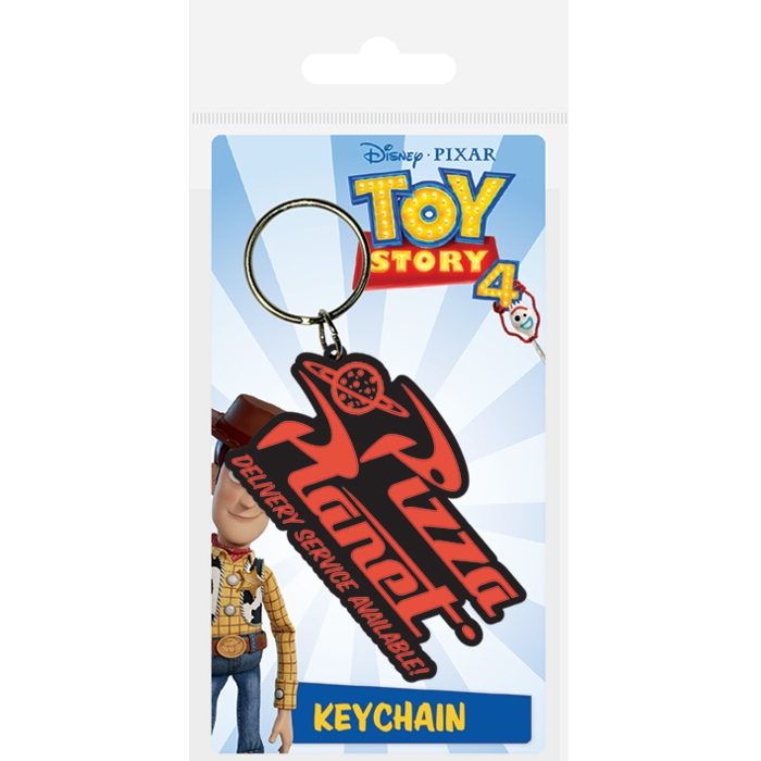 Toy Story Keyring Toy Story 4 Pizza Planet Logo Sparkle Gift