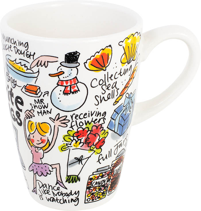 Blond Mug Xl Things Sparkle Gift