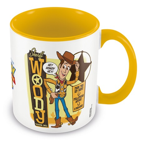 Toy Story Boxed Mug Coloured Inner Sheriff Woody             Sprakle Gifts