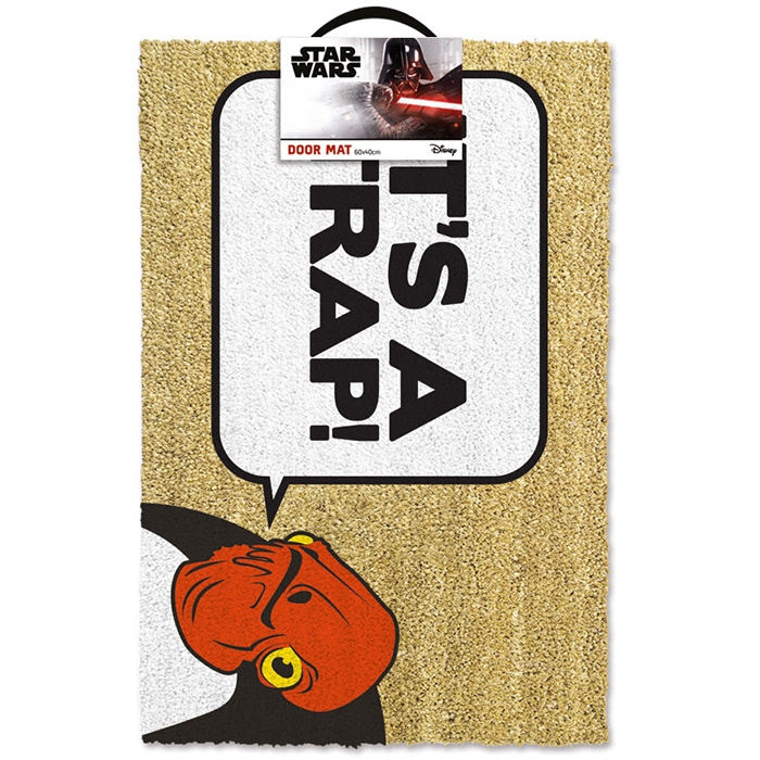 Star Wars Doormat Its A Trap! Sparkle Gift