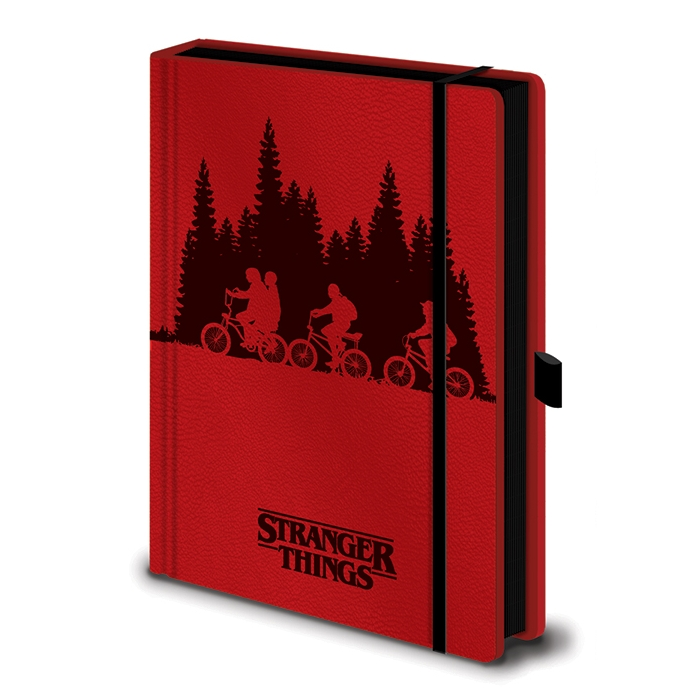 Stranger Things Premium A5 Notebook Upside Down Sparkle Gift