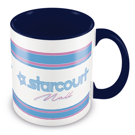 Stranger Things Boxed Mug Coloured Inner Starcourt Mall Sparkle Gift