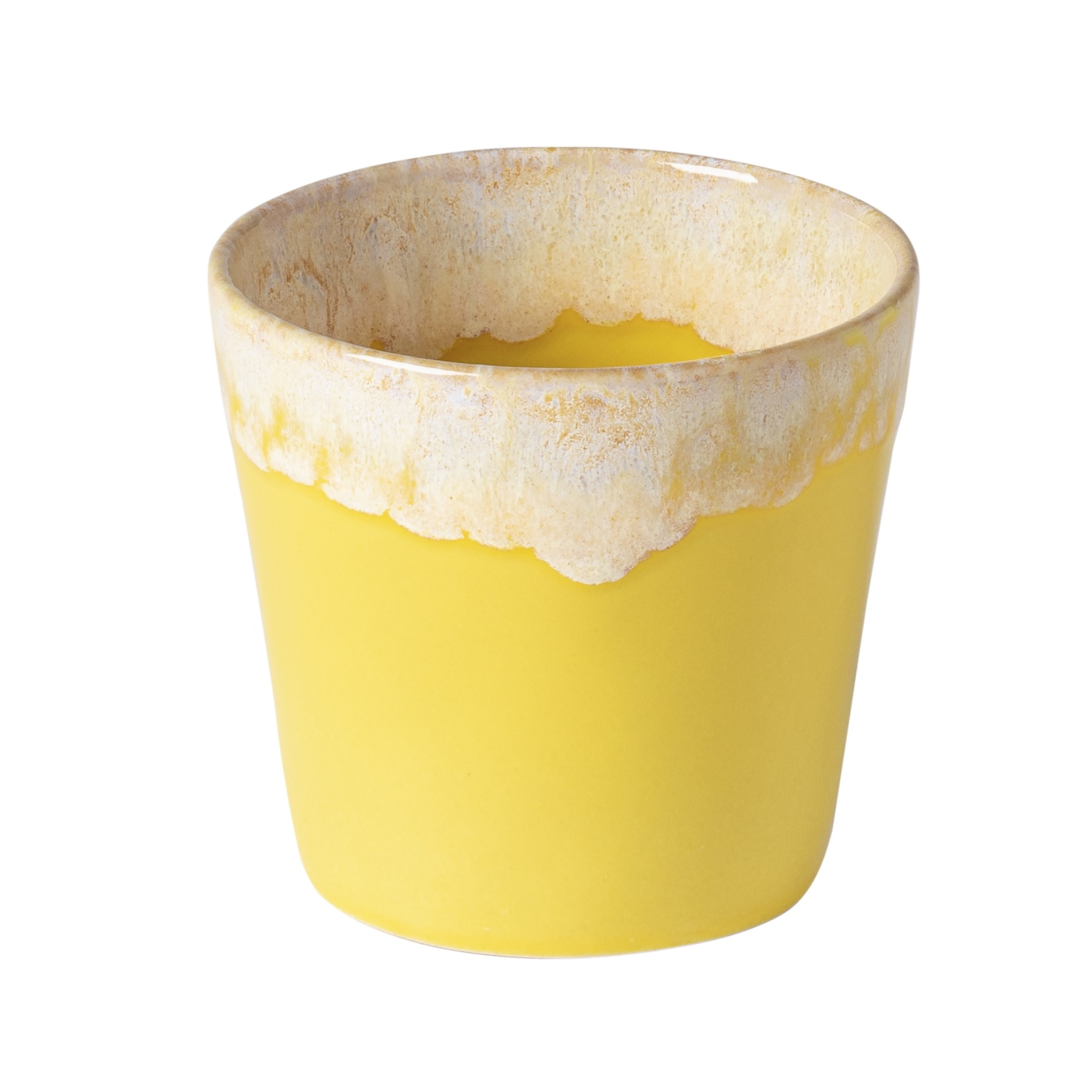 Grespresso Lungo Cafe Cups 0.21l Yellow X6 Sparkle Gift
