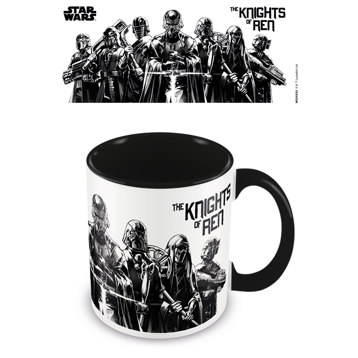 Star Wars Boxed Mug Coloured Inner Knights of Ren Sparkle Gift