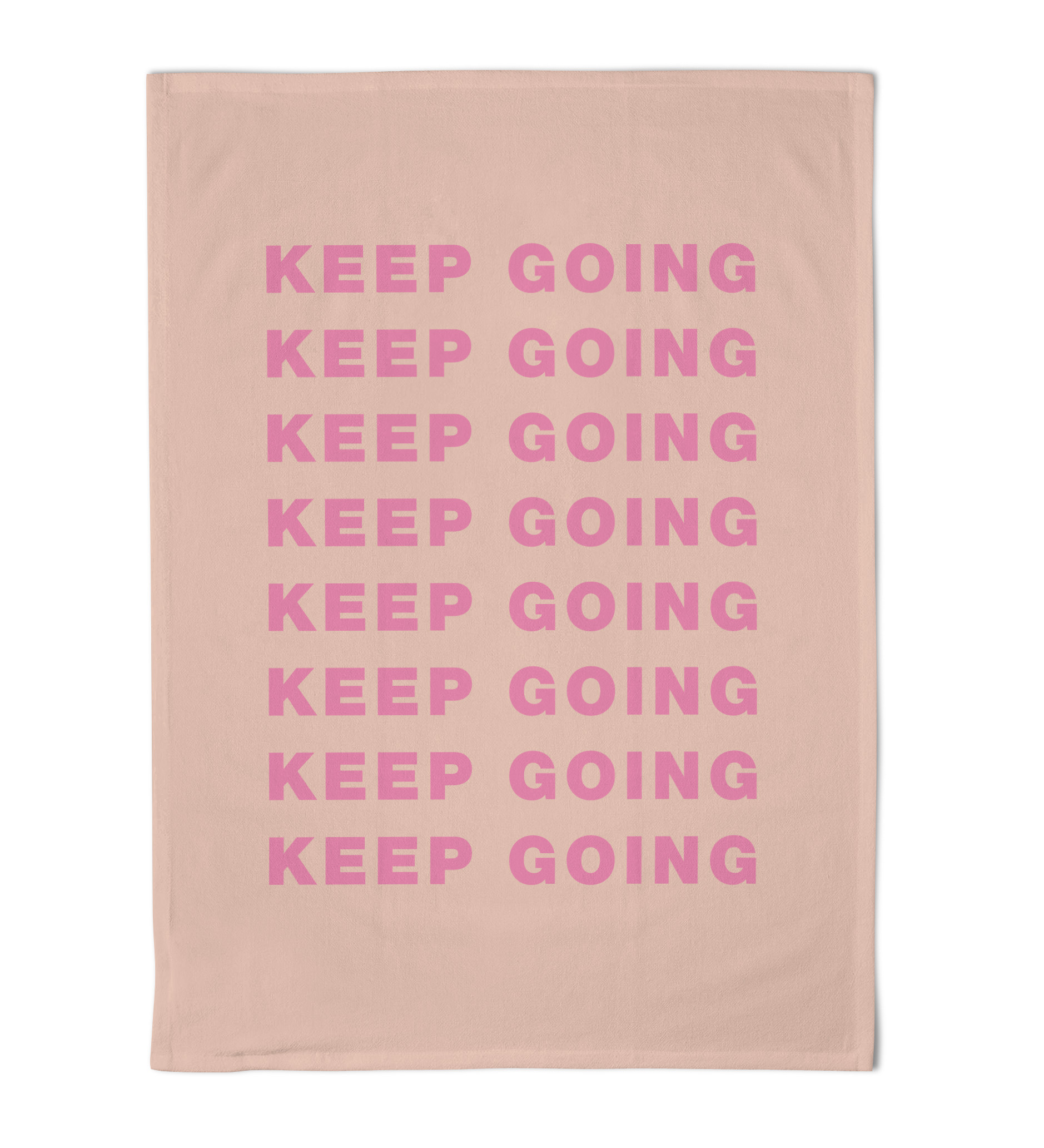 Emily Brooks Tea Towel Keep Going Sparkle Gift