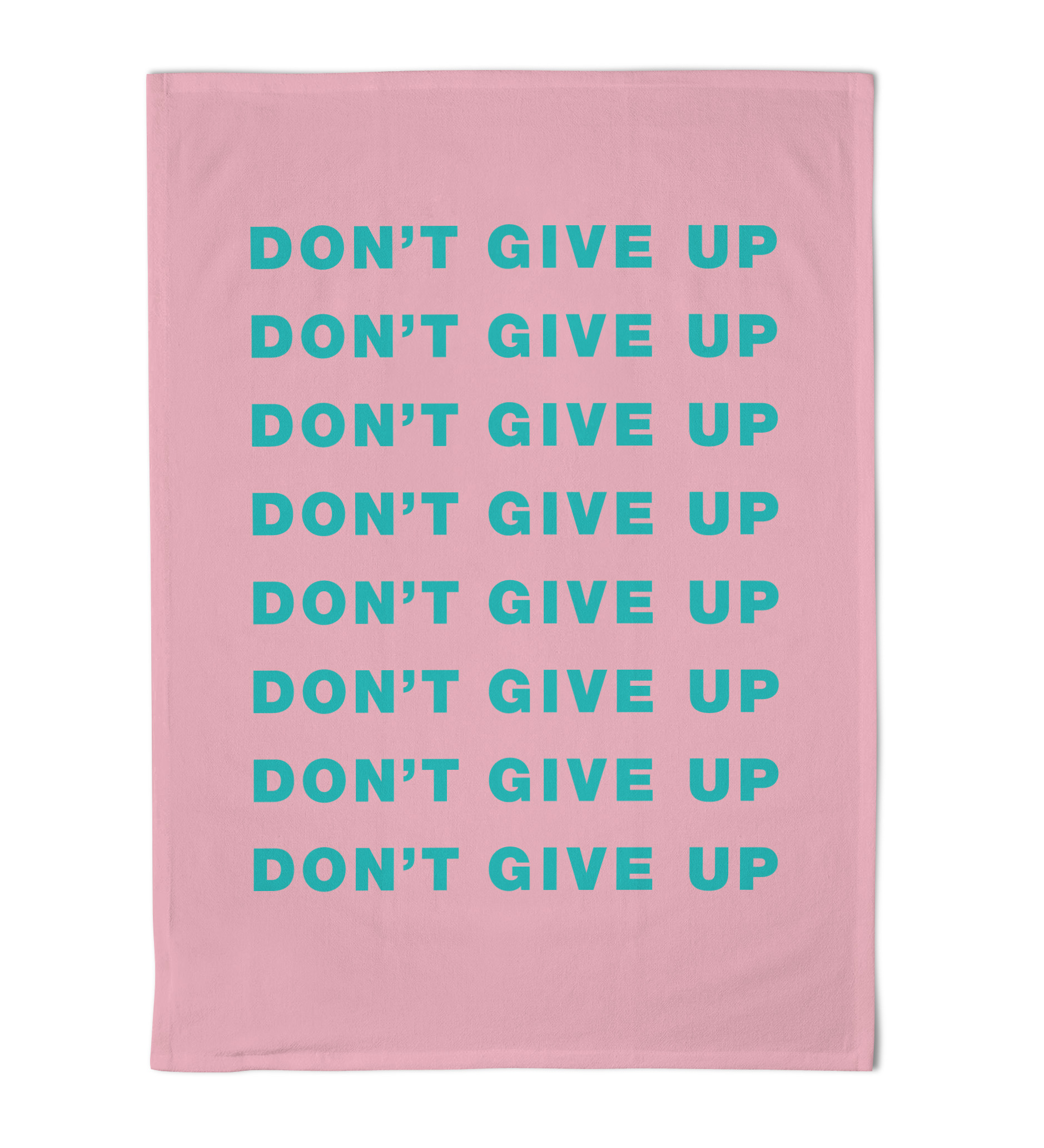 Emily Brooks Tea Towel Dont Give Up Sparkle Gift