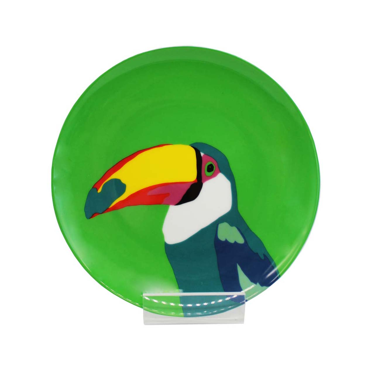 Emily Brooks Plate 21cm Toucan Sparkle Gift
