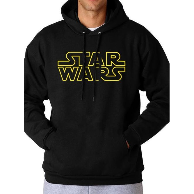 Star Wars Hoodie Logo Large Sparkle Gift