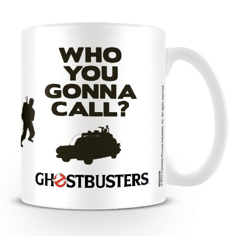 Ghostbusters Boxed Mug Who You Gonna Call'                   Sprakle Gifts