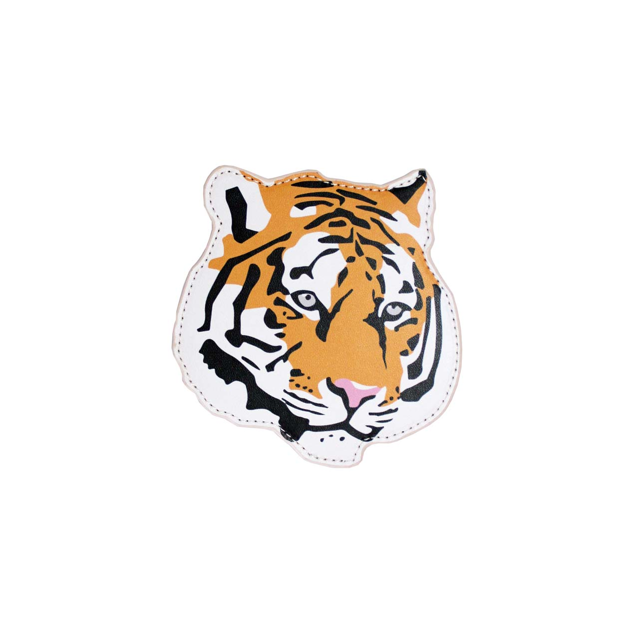 Emily Brooks Coaster Pu Tiger Sparkle Gift