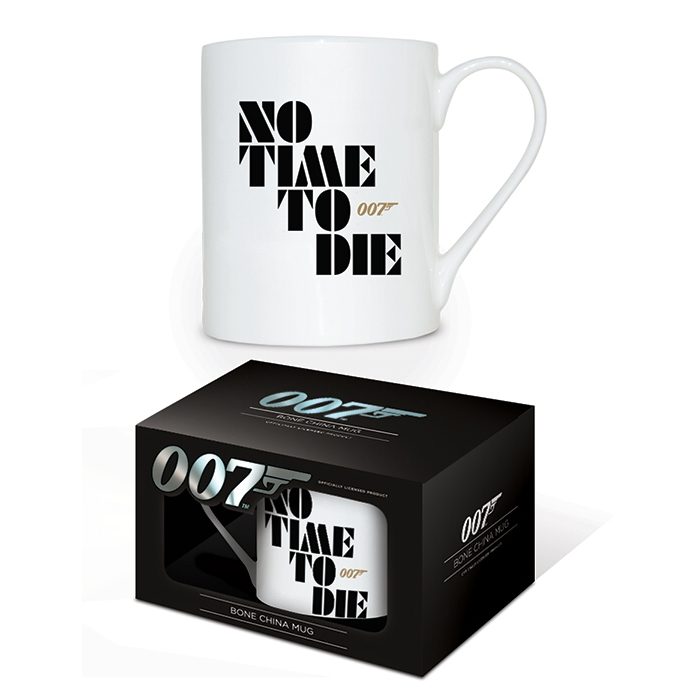 James Bond Boxed Mug Bone China No Time To Die Sparkle Gift