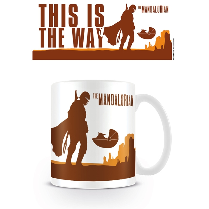 Star Wars Boxed Mug The Mandolorian This Is The Way Sparkle Gift