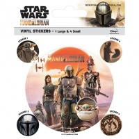 Star Wars Stickers The Mandolorian Legacy Sparkle Gift
