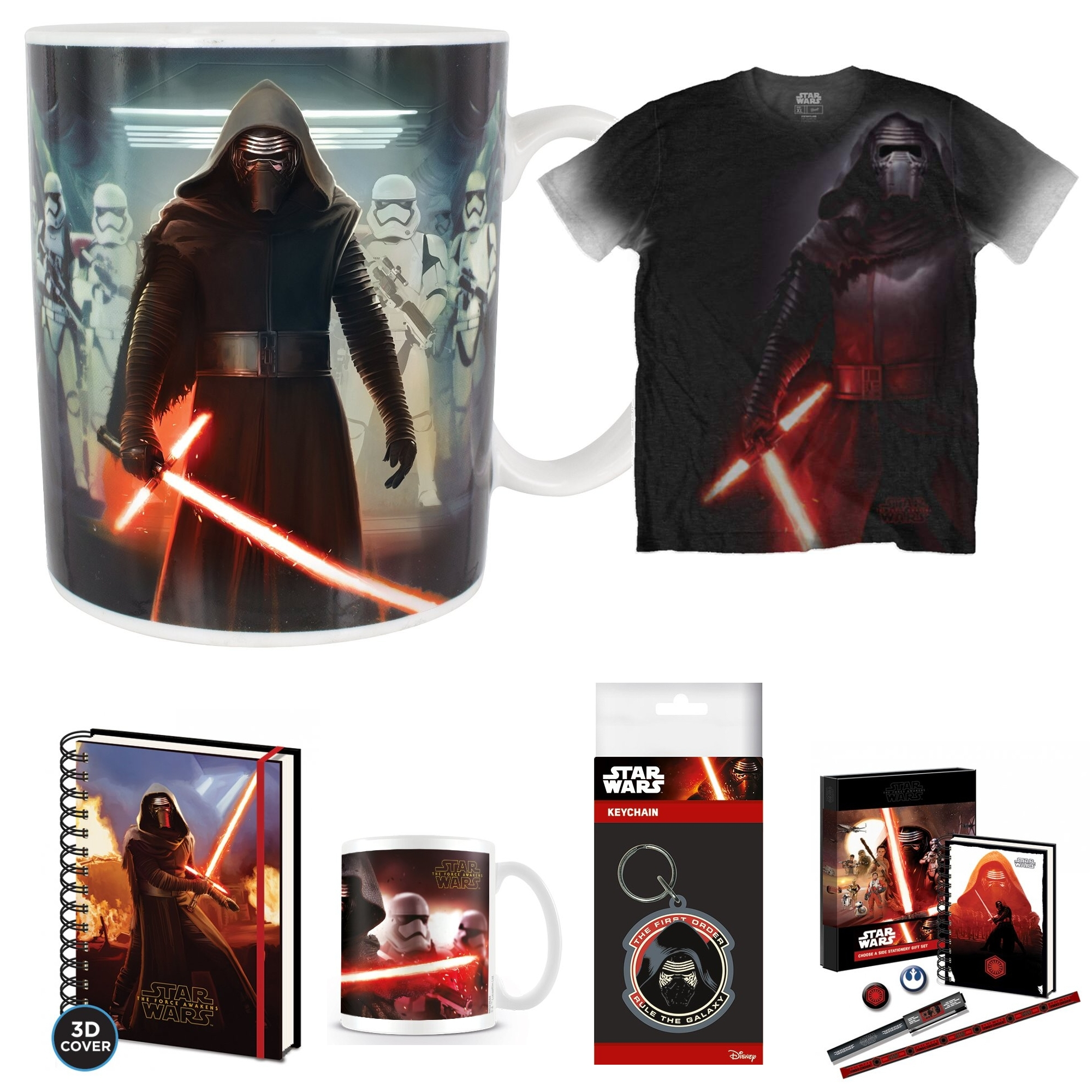 Mystery Box Star Wars Kylo Ren Large Sparkle Gift