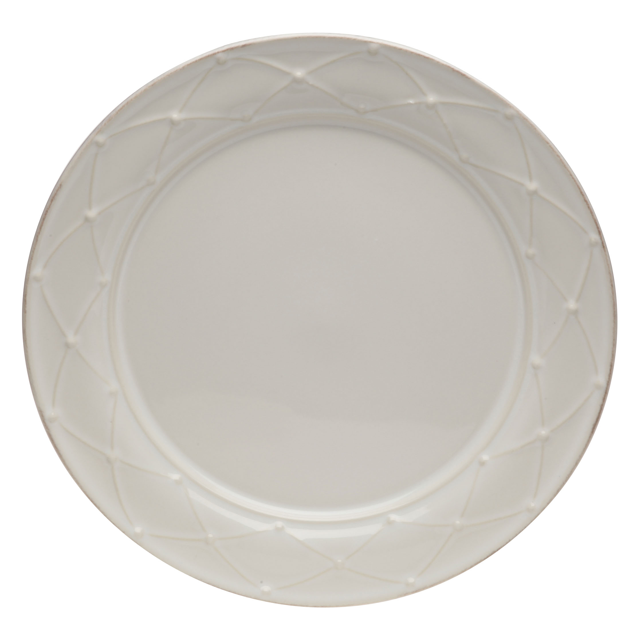 Meridian Dinner Plate Decorated White 29.7cm Sparkle Gift