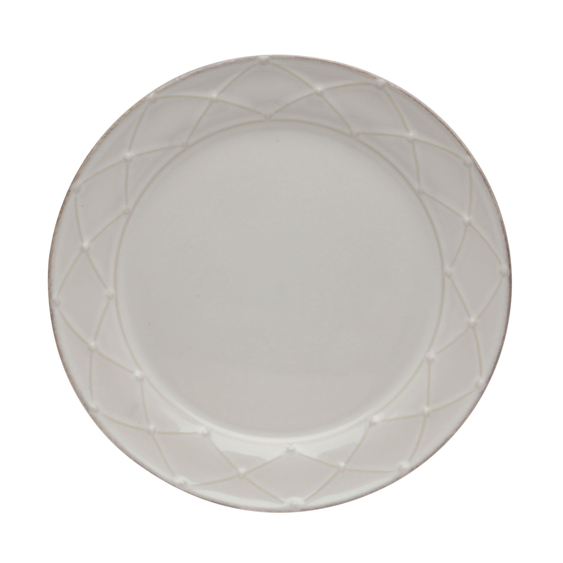 Meridian Rd. Salad Plate Decorated White 23.6cm Sparkle Gift
