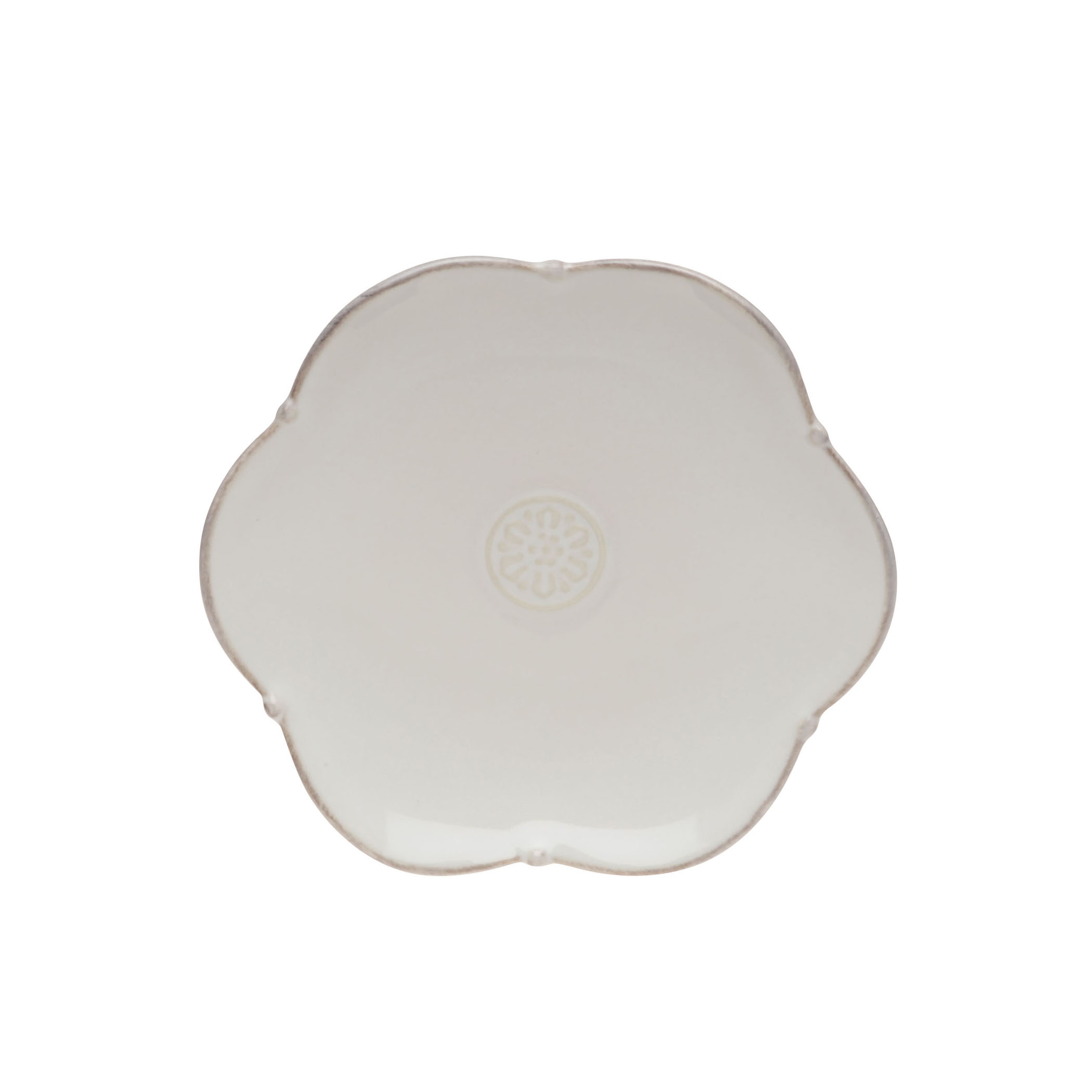 Meridian Bread Plate White 16.5cm Sparkle Gift